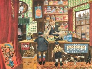 Sweet shop illustration taken from
