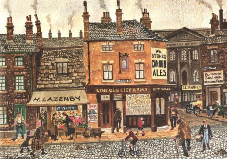Clarence Street illustration taken from