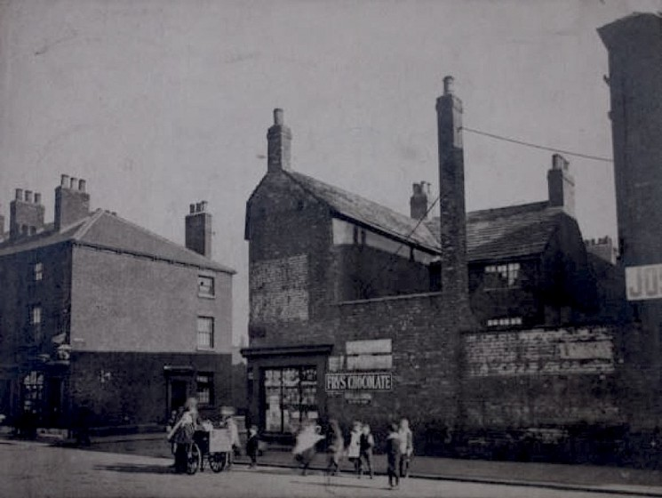 Site of Joseph Pickering & Sons Ltd packaging works, Moore St, Sheffield. 1906 | Photo: SALS MD7781