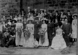 Wedding of Herbert Edward Barringer. Unknown year | Photo: Pamela Jackson