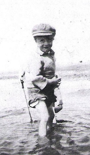 George Cunningham as a toddler. 1920s | Photo: Pamela Jackson