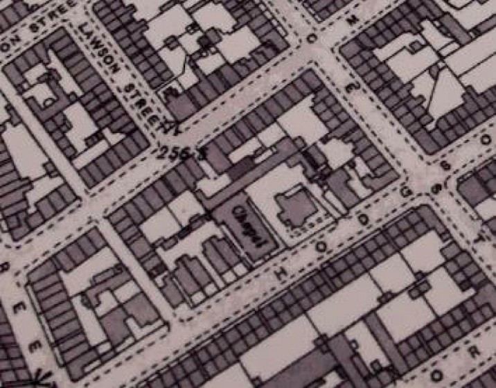 Map of Broomhall. 1894 | Photo: University of Sheffield Library