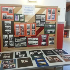 Exhibition of images of Broomhall. March 2014   Photo: Our Broomhall