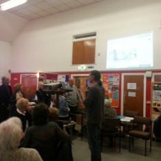Richard Freeston's website presentation. March 2014   Photo: Our Broomhall