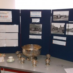 Viners exhibition stand. March 2014   Photo: Our Broomhall
