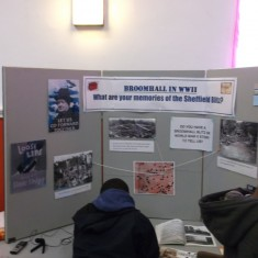 WWII exhibition. March 2014   Photo: Our Broomhall