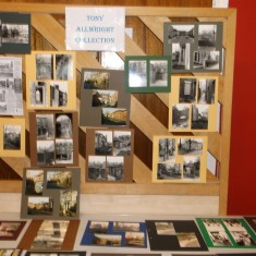 Tony Allwright photo exhibition. March 2014   Photo: Our Broomhall