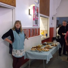 Lyndsey at the Down Memory Lane event. March 2014   Photo: Our Broomhall