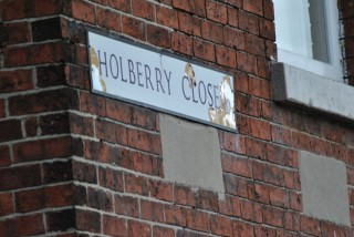 Street Sign for Holberry Close. 2014 | Photo: Our Broomhall