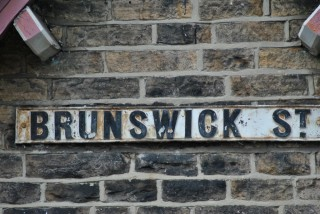Street Sign for Brunswick Street. 2014 | Photo: Our Broomhall