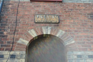 Street Sign for Filey Street. 2014 | Photo: Our Broomhall