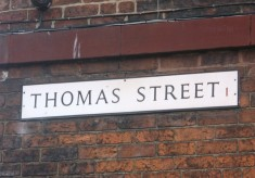 Street Names in Broomhall Old and New: T ~ W