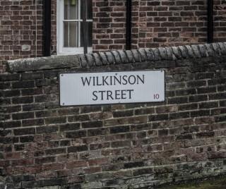 Street Sign for Wilkinson Street. 2015 | Photo: Mark Sheridan
