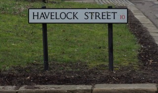 Street Sign for Havelock Street. 2015 | Photo: Mark Sheridan