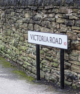 Street Sign for Victoria Road. 2015 | Photo: Mark Sheridan