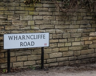 Street Sign for Wharncliffe Road. 2015 | Photo: Mark Sheridan