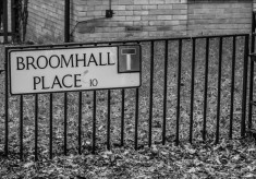 Street Names in Broomhall Old and New: A ~ C