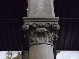 Photo 7: Column 5. The capital. | Photo: Our Broomhall