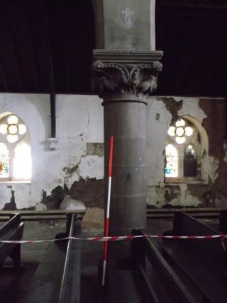 Photo 11: Column 6. The entire column. | Photo: Our Broomhall