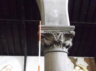 Photo 9: Column 6. The capital. | Photo: Our Broomhall