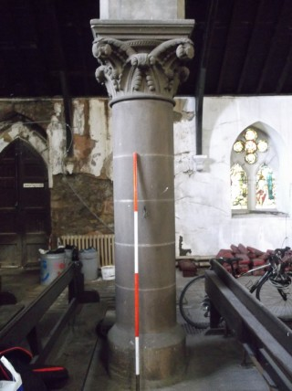 Photo 2: Column 1. The entire column. | Photo: Our Broomhall