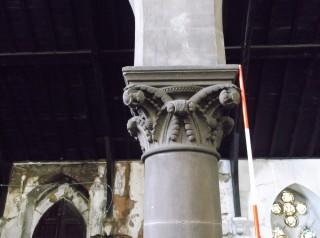 Photo 1: Column 1. The capital. | Photo: Our Broomhall