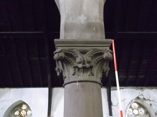 Photo 3: Column 2. The capital. | Photo: Our Broomhall