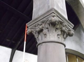 Photo 5: Column 3. The capital. | Photo: Our Broomhall