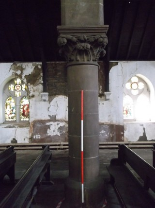 Photo 10: Column 5. The entire column. | Photo: Our Broomhall