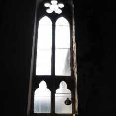 Window matching number 8 in the chancel survey plan. | Photo: Our Broomhall