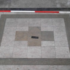 Platform matching number 11 in the chancel survey plan. | Photo: Our Broomhall