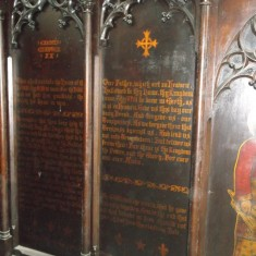 Reredos screen in the chancel of the St Silas Church. | Photo: Our Broomhall