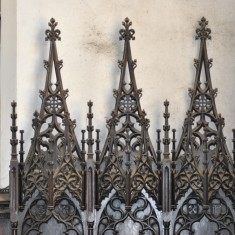 St Silas Building Recording day - Altar Screen. April 2014 | Photo: Our Broomhall