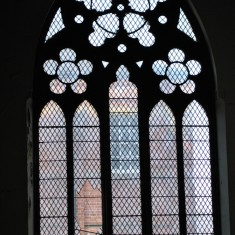 St Silas Building Recording day – Back Window. April 2014 | Photo: Our Broomhall