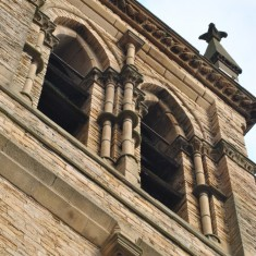 St Silas Building Recording day – Bell Tower. April 2014 | Photo: Our BroomhallApril 2014