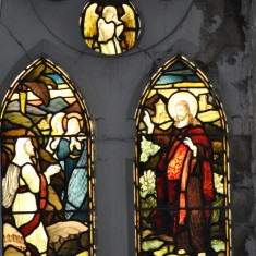 St Silas Building Recording day – Foljambe memorial window. April 2014 | Photo: Our Broomhall