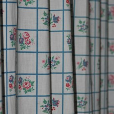 St Silas Building Recording day – Kitchen Curtain. April 2014 | Photo: Our Broomhall