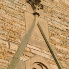 St Silas Building Recording day – external stonework. April 2014 | Photo: Our Broomhall