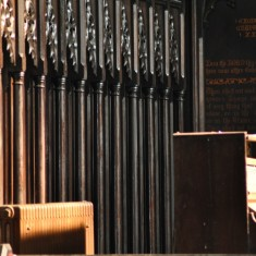 St Silas Building Recording day – organ. April 2014 | Photo: Our Broomhall