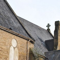 St Silas Building Recording day – roof. April 2014 | Photo: Our Broomhall