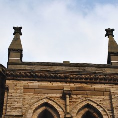 St Silas Building Recording day – turret. April 2014 | Photo: Our Broomhall