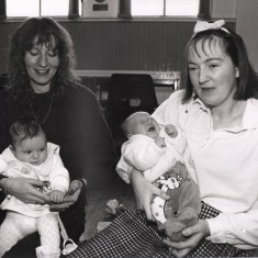 Broomhall babies. 1992 | Photo: Broomhall Centre