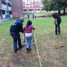 Geophysics Day on the Hanover Estate. August 2014 | Photo: Our Broomhall