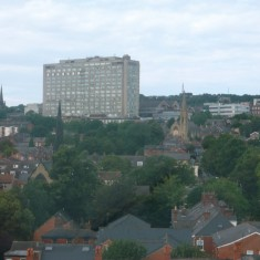 Royal Hallamshire Hospital from West One Plaza. 2014 | Photo: Our Broomhall