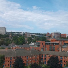 Victoria Street from West One Plaza. 2014 | Photo: Our Broomhall
