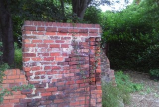 Jubilee Allotments Wall. 2014   Photo: Our Broomhall