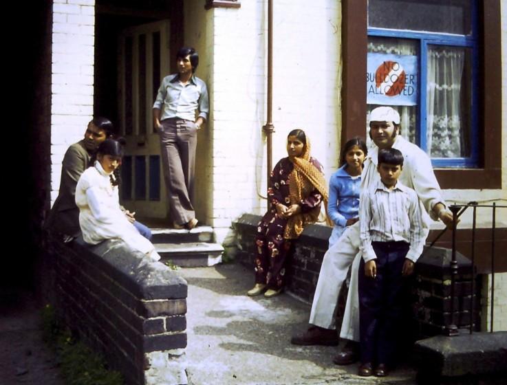 Pete and family. 1970s | Photo: David Stevenson