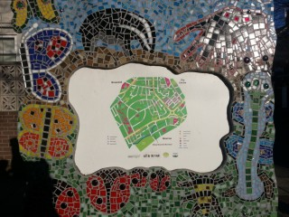 Mosaic map of Broomhall. 2013 | Photo: Our Broomhall