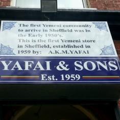 Yafai & Sons, Filey Street. 2014 | Photo: Mike Nicod