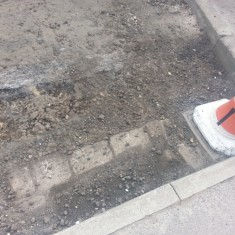 Road resurfacing in Broomhall. Summer 2014 | Photo: Our Broomhall